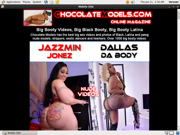 Chocolate Models Tranny