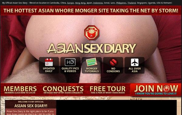 Free Asian Sex Diary Premium Account
