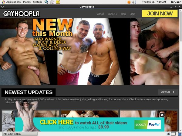 Free Trial Gayhoopla Membership