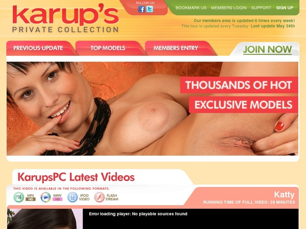 Karups Private Collection Trial Offers