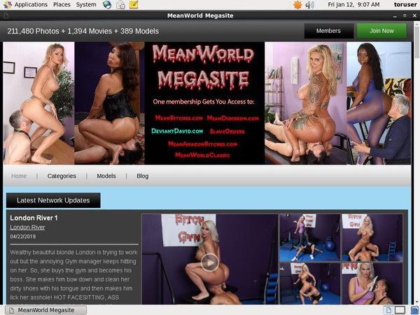 Meanworld.com Get Access