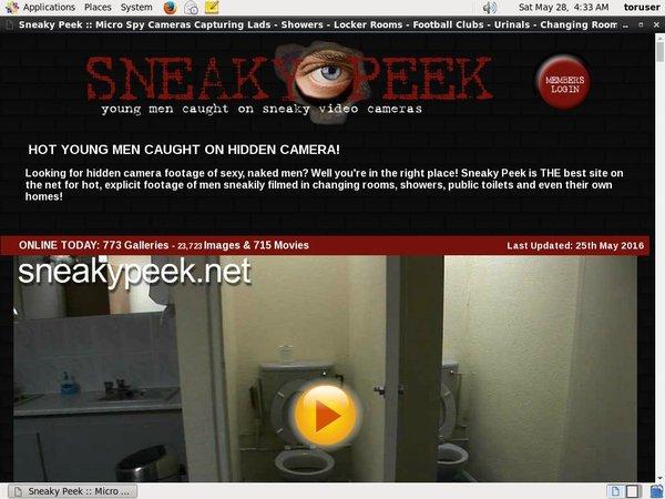 Sneaky Peek Get Trial Membership