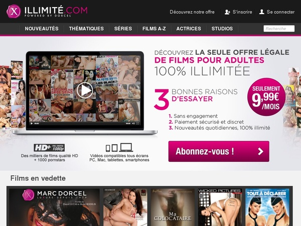 X Illimite Discount Join Page