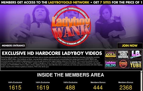 Free Ladyboy Wank Account Password