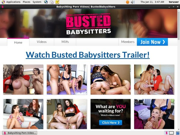 Bustedbabysitters.com Free User