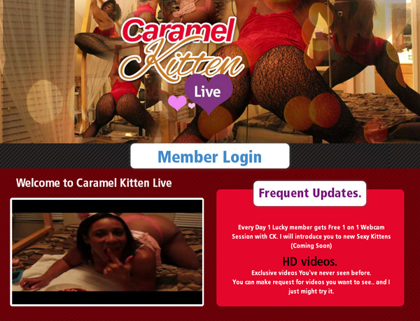 Caramelkittenlive.com Join Now