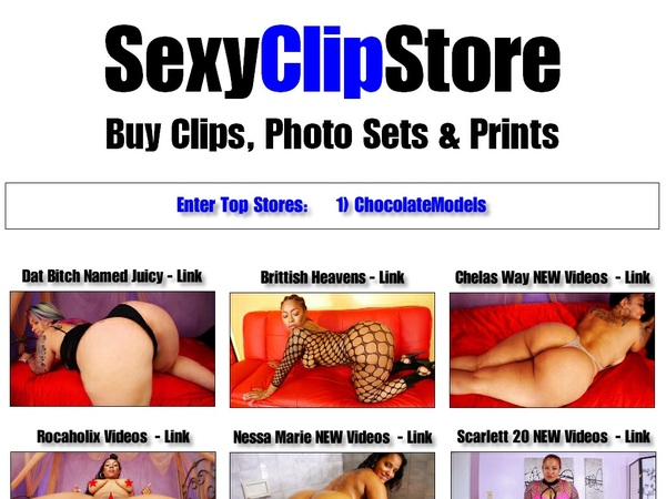Sexy Clip Store Promotion