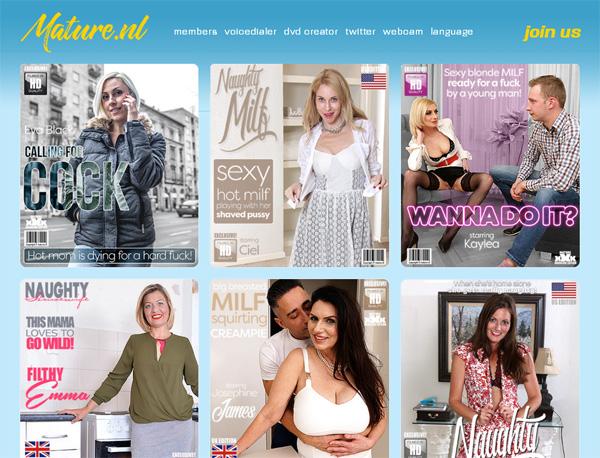 Mature.nl Cheaper Price