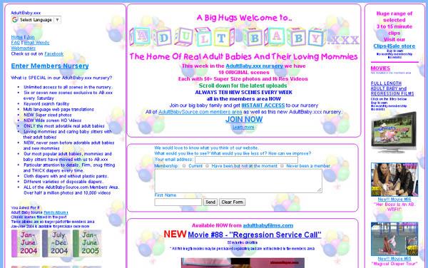 Adult Baby XXX Premium Logins