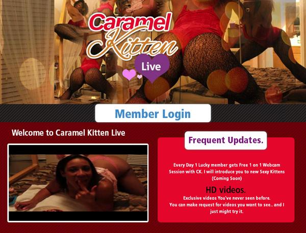 Caramelkittenlive.com With Webbilling.com