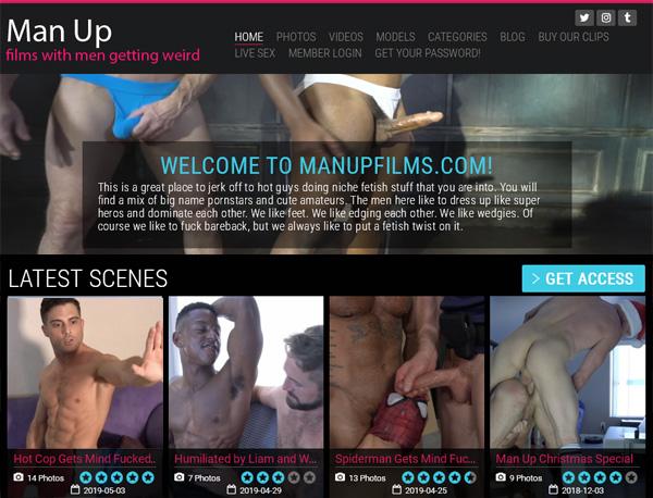 Man Up Films Discount Deal Link
